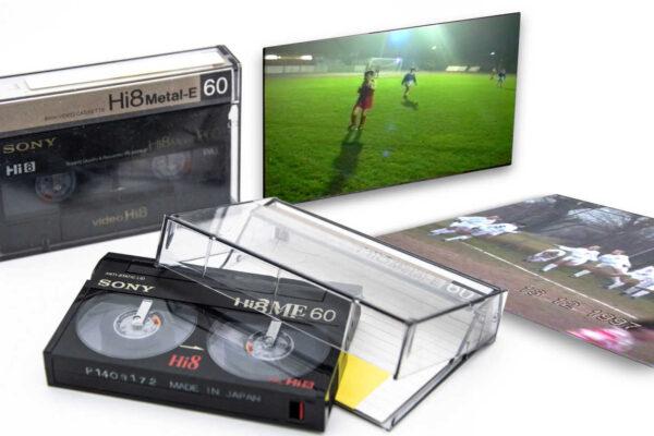 Videocassette Hi8 e filmati recuperati